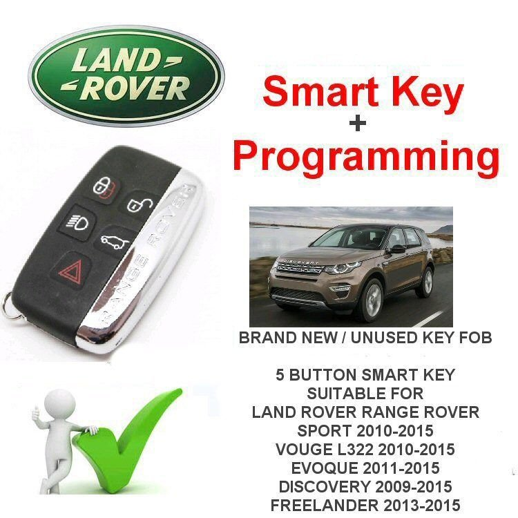 2009-2018 Land Rover Discovery Replacement Smart Key