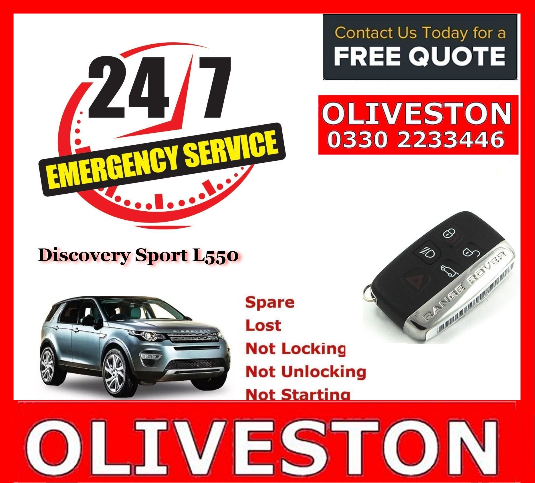 land rover jaguar spare lost key replacement