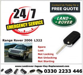 Range Rover Vogue L322 2006 Key Fob Replacement Spare Lost Not Locking Not Unlocking