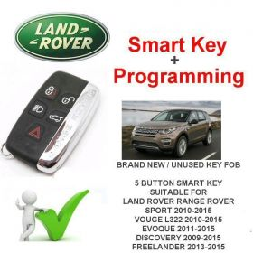 2009-2015 Land Rover Discovery Replacement Smart Key & Programming